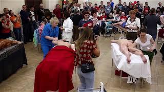 Чемпионат по массажу  Свободный мастер 2 заход