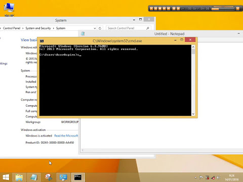 Cara Menghilangkan Activate Windows go to Settings to Activate.