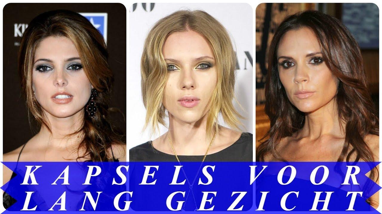 Fabulous Mooie kapsels voor lang gezicht 2018 dames - YouTube PM96