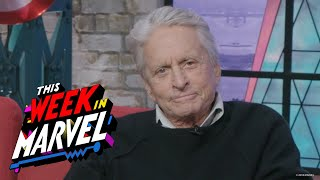 Michael Douglas talks about the making of Marvel Studios Ant-Man and the Wasp | This Week in Marvel