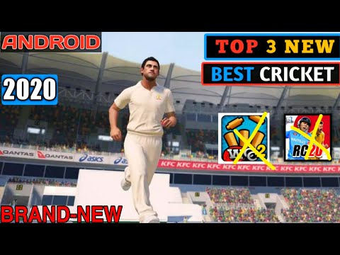 TOP 3 BEST HIGH GRAPHICS ANDROID CRICKET GAME 2020
