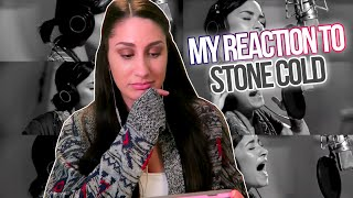 Demi Lovato - Stone Cold (Live in Studio) Reaction!