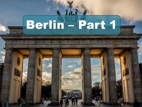 Motorcycle tour around Berlin. Sightseeing from the saddle of my motorcycle - Part 1