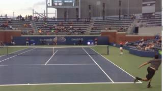 Opelka Carves Out A Filthy Angle On A Deuce-Court Serve