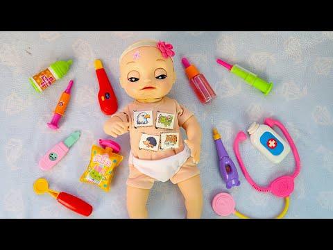#Куклы ОСМОТР НА ДОМУ Пупсика Оли Мультик для детей Игрушки для девочек Мама и дочка
