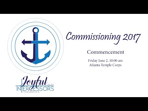 Commissioning 2017 - Commencement