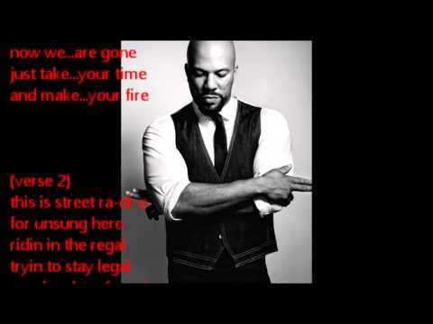 Common  The People  Just Being Common  Lyrics