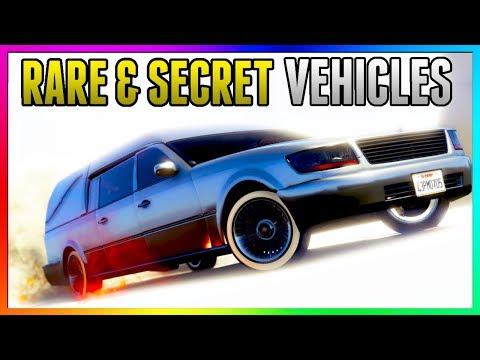 GTA 5 Online - FREE RARE CARS Location 1.41: SECRET HIDDEN RARE CARS! (GTA 5 Best Rare Cars Online)