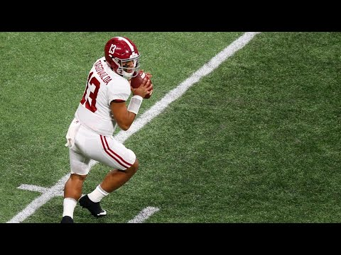 Tua Tagovailoa - The Game Winner of National championship!!