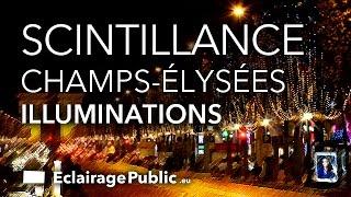 Illuminations de Noël 2014 des Champs-Elysées, Paris (par Omar SY et Anne hidalgo) Christmas lights