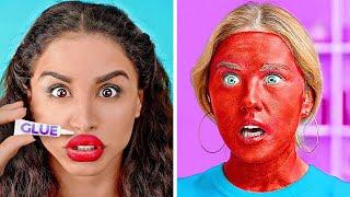 TOTAL VERRÜCKTE BEAUTY-HACKS || Lustige Beauty-Tricks, die wirklich funktionieren