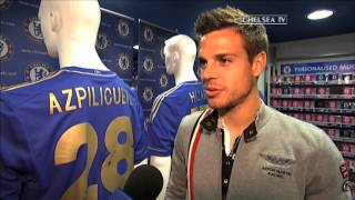Signing session at the Stamford Bridge Megastore