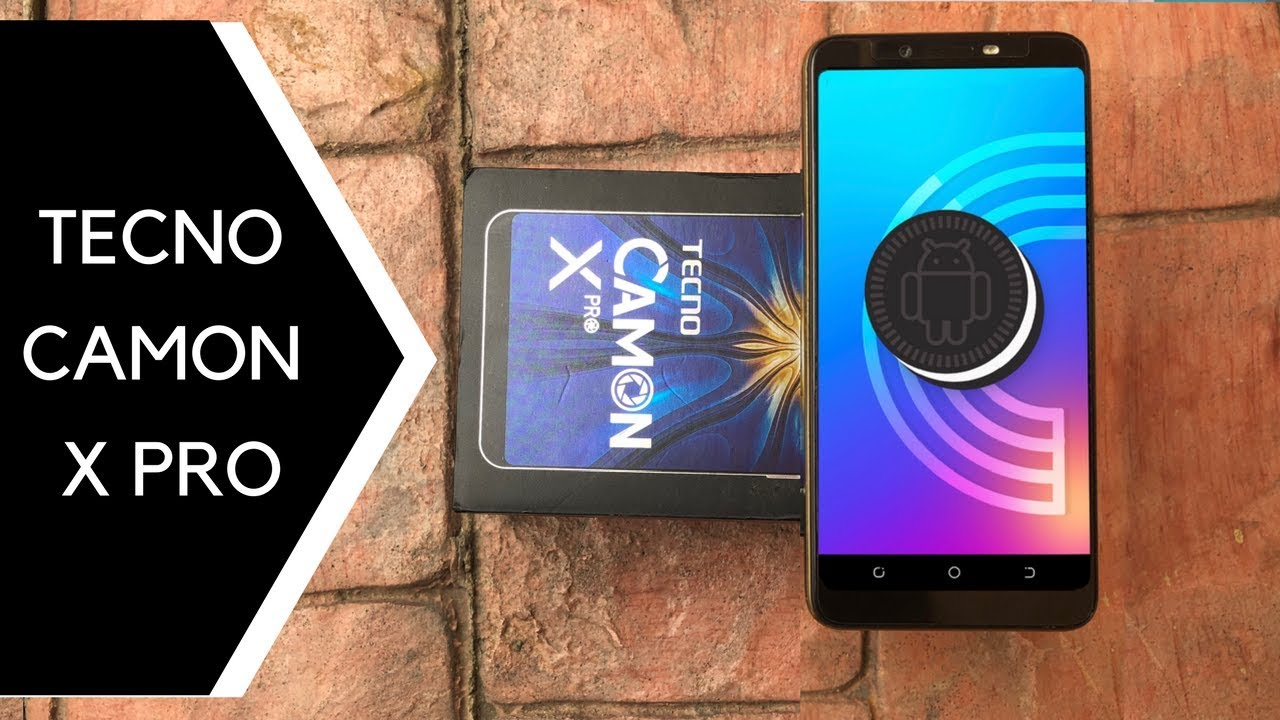 TECNO Camon X Pro Unboxing and First Impressions - 64GB Storage + 4GB RAM