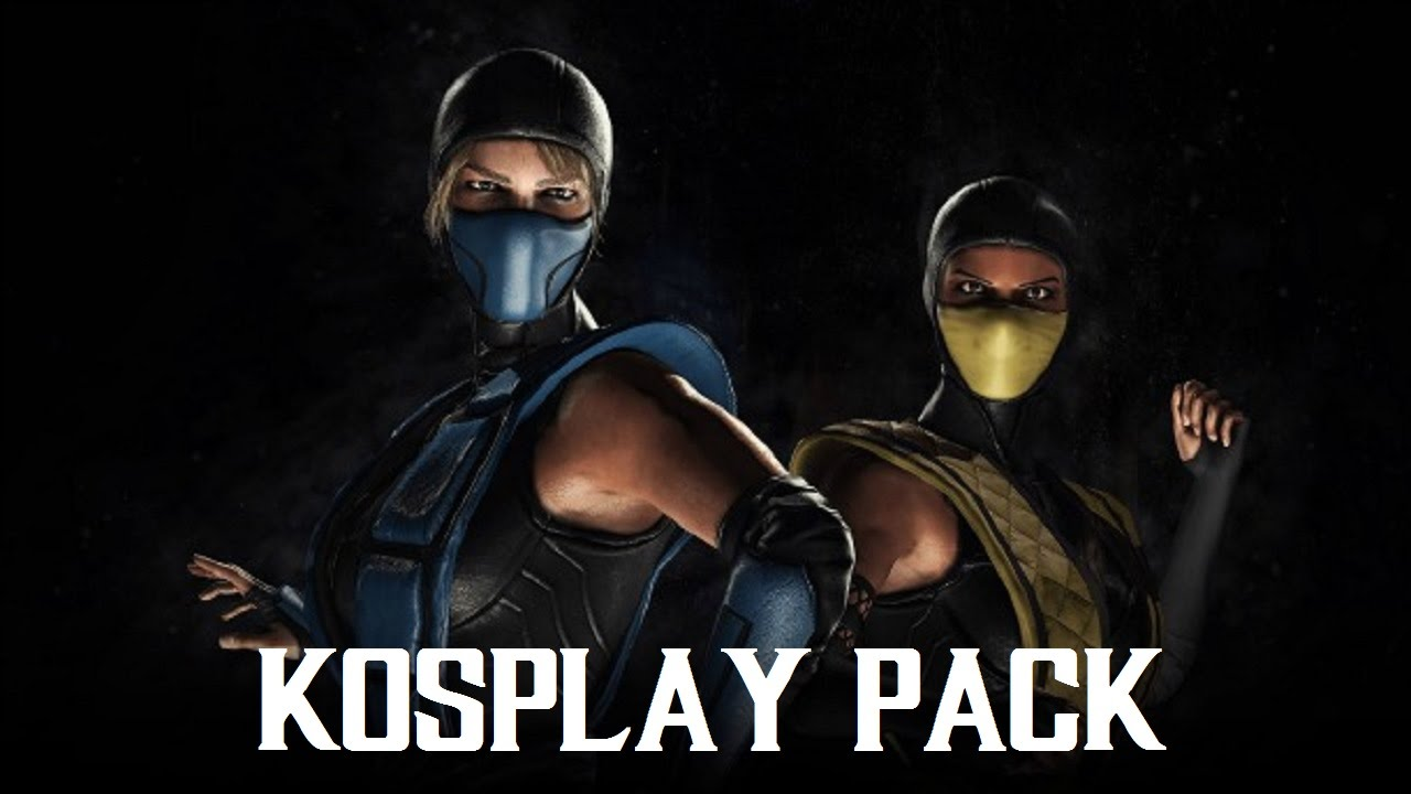 Mortal Kombat Xl Sub Zero Scorpion Kosplay Costume Skin Pack 1080p 60fps Youtube
