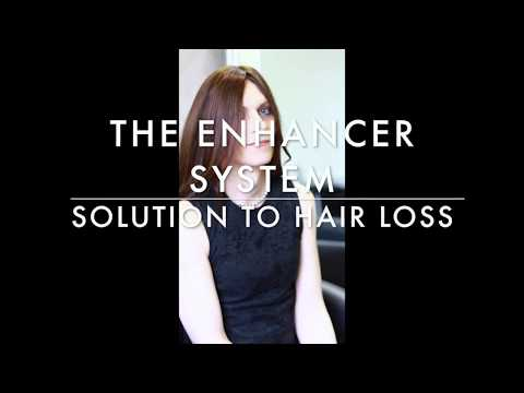 The Enhancer System -  solution to female hair loss