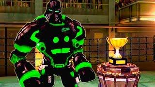 Real Steel Champions ZEUS ATOM BOT ZEUSATOM VS REGION I ROBOTS NEW ROBOT Живая Сталь