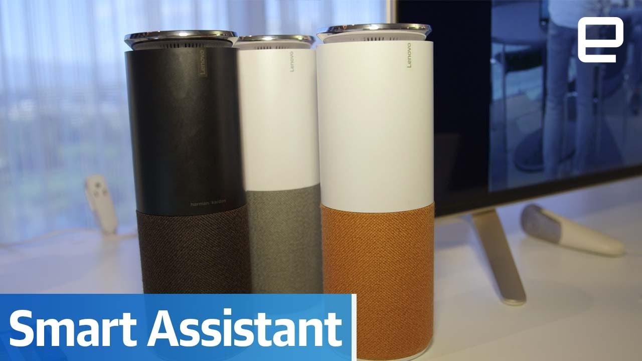 lenovo smart assistant hands on youtube. Black Bedroom Furniture Sets. Home Design Ideas