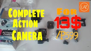 a7 action sports camera unboxing camera test lazada