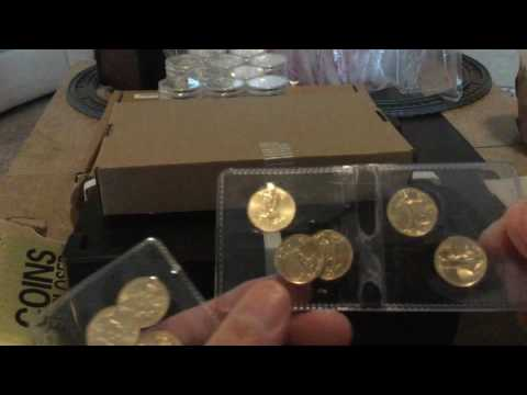 Gold and Silver Bullion February Pickups / Unboxing