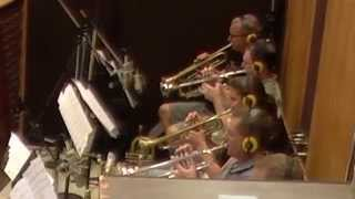 """Bone Talk"" (Live In Studio) - The Mark Taylor Big Band"