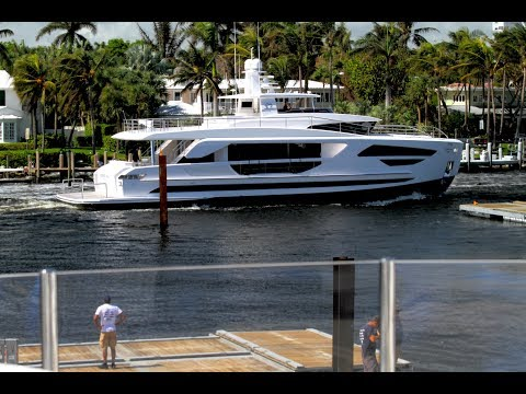 Horizon Yachts FD85.  N American Debut.  Move in Ft. Lauderdale Boat Show