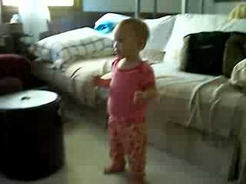 Lily Does The Wiggles' Chicken Dance