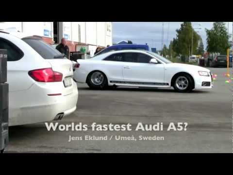 Worlds fastest Audi A5 (no action at all!) - YouTube