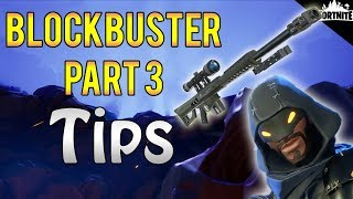 FORTNITE - Blockbuster Part 3 Quest Tips And Rewards (New Obliterator Sniper And Double XP)