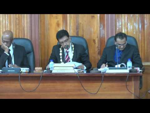 San Fernando City Corporation 15th Statutory Meeting - 2015,01, 27 - Trinidad & Tobago