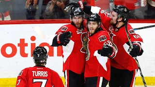 Hoffman's goal helps Senators force Game 7 with Penguins