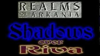 Realms of Arkania 3: Shadows Over Riva gameplay (PC Game, 1996)