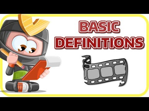 [Learn English Photography 1] Basic Definitions | Learning English Science For Kids