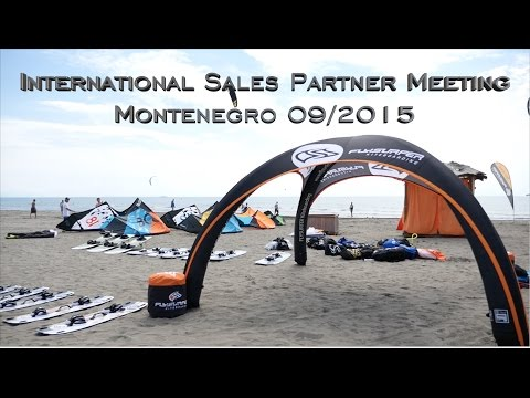 Flysurfer International Sales Partner Meeting 2015 – Montenegro