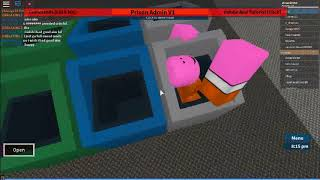 How to get stuck in a trash can (Roblox Prison Life)