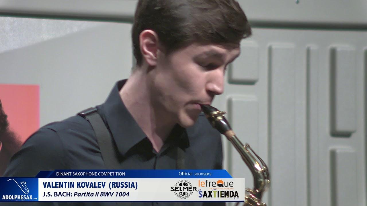Valentin Kovalev (Russia) - Partita II by J.S.Bach (Dinant 2019)