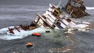 Cargo Ship Sinking - Container Ship Sinking