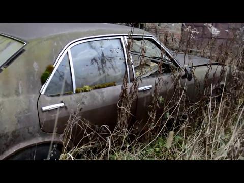 Abandoned Ford Granada Consul