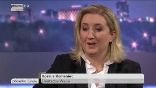 """""""Streit um Geld und Flüchtlinge - Zerfällt die EU?"""" - phoenix Runde vom 21.03.2017"""