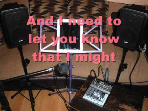 Is It Ok If I Call You Mine Acoustic Karaoke Backing Track Youtube