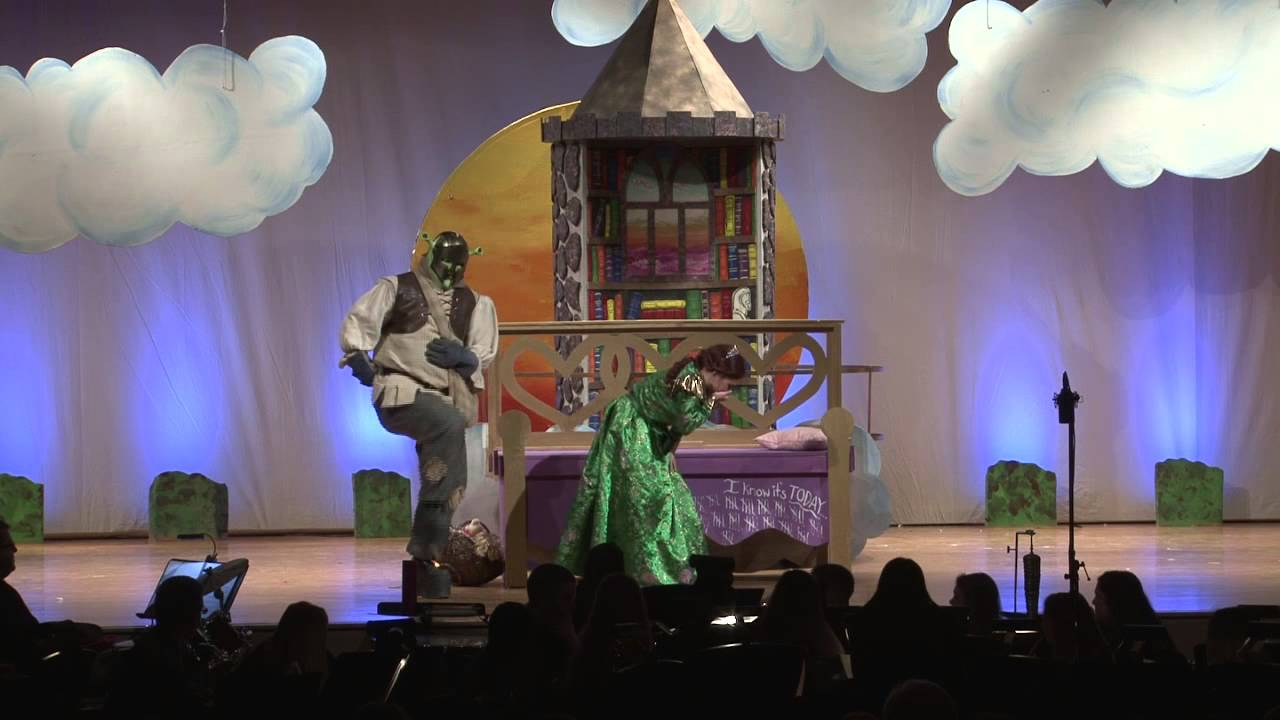Shrek The Musical Full Best High School Production On Youtube Youtube