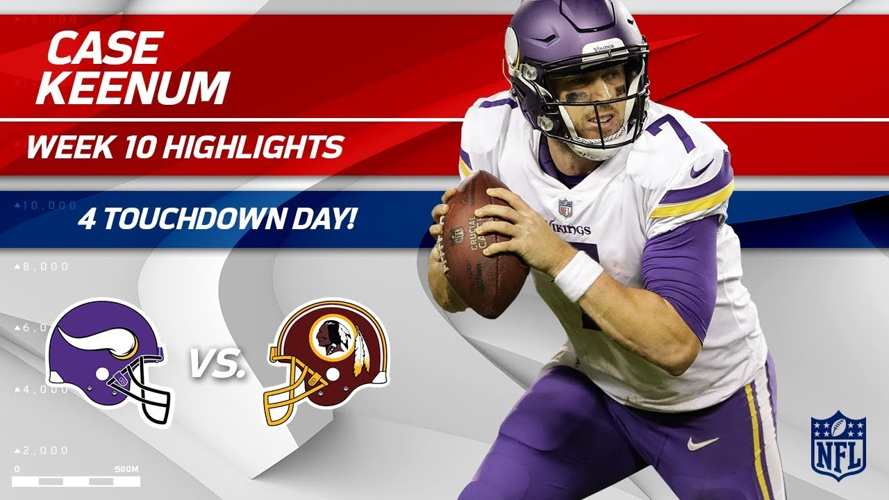 With breakout year for Vikings, Case Keenum finally finds solid ground