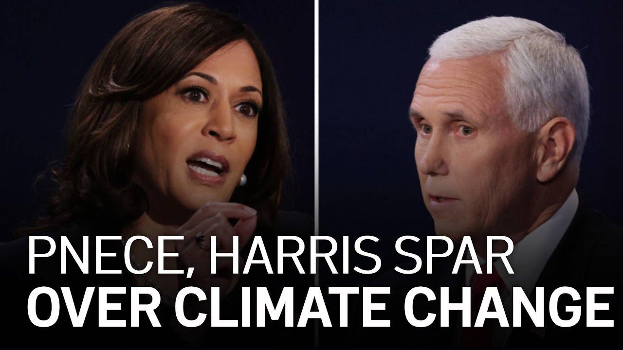 Vice President Pence, Senator Harris Spar Over Climate Change