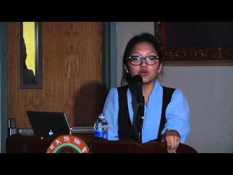 """Tenzin Dickyi Sinzitsang """"Importance of Language, Education & Culture"""""""