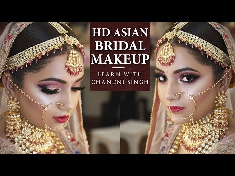 Bridal Makeup Tutorial | Step By Step Bridal Makeup | Indian Brides | Chandi Singh
