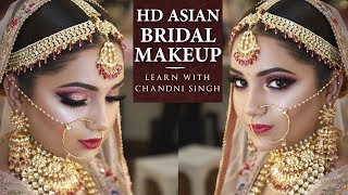 Bridal Makeup Tutorial | Step By Step Bridal Makeup | Indian Brides | Chandi Singh