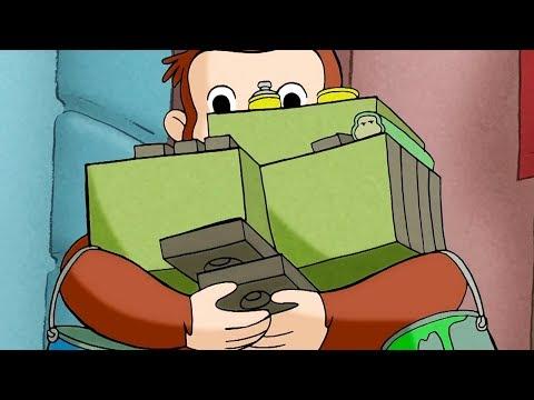 George O Curioso 🐵O Som Invisivel 🐵Jorge O Macaco Curioso🐵Desenhos Animados