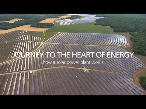 Journey to the heart of Energy - How a solar power plant works