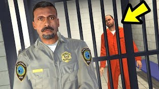 Playing as a PRISON GUARD in GTA 5!