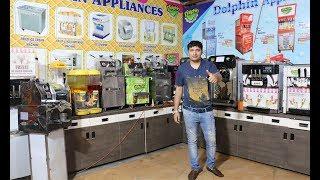 SOFTY ICE CREAM MACHINE | SUGARCANE JUICER MACHINE | POPCORN MACHINE | SLUSH MACHINE |
