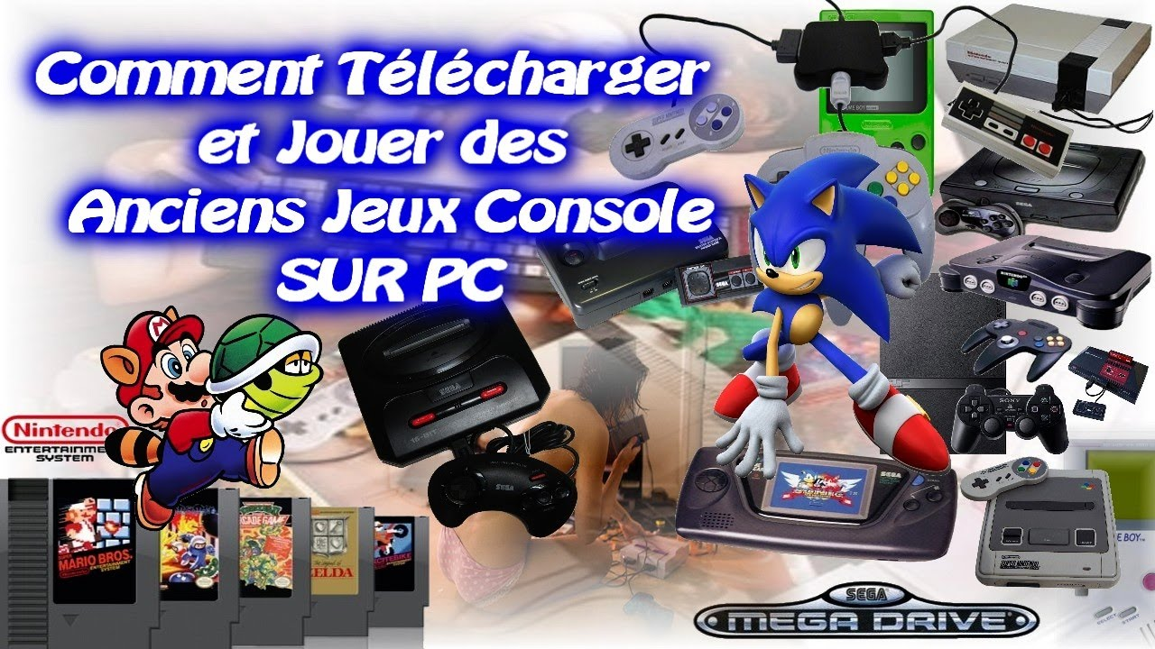 t l charger et jouer a des ancien jeux console sur pc vid o youtube. Black Bedroom Furniture Sets. Home Design Ideas